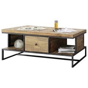 Sconto Konferenční stolek PARQUET přírodní akácie/šedá