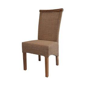 Sconto Židle PERTH hnědá/bau jan