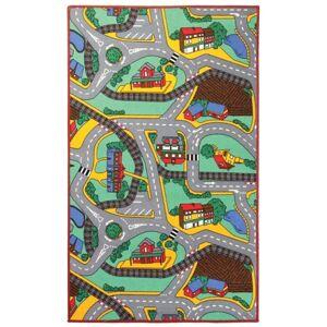 Sconto Dětský koberec PLAYTIME vícebarevná, 140x200 cm