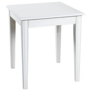 Sconto Přístavný stolek PROVENCE 4 bílá