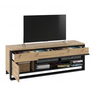Sconto TV komoda QUANT dub artisan/černá