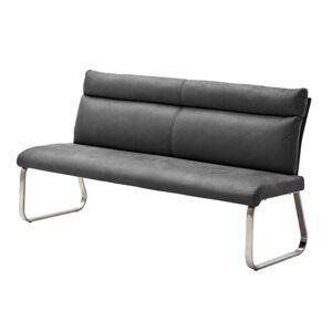 Sconto Jídelní lavice RILEY 2 šedá