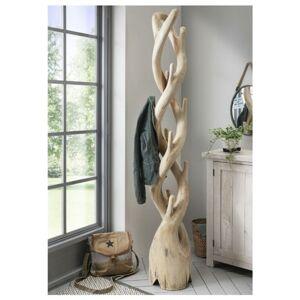 Sconto Stojací věšák ROOT teakové dřevo