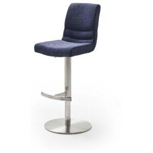 Sconto Barová židle SADIE modrá