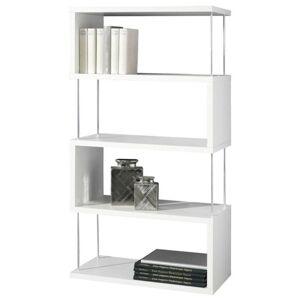 Sconto Regál/knihovna STICKS bílá