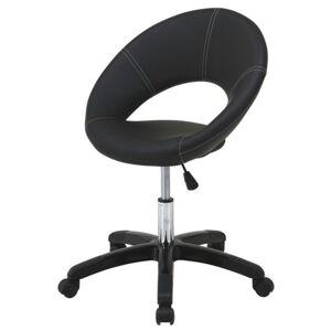 Sconto Otočná židle VAIO černobílá