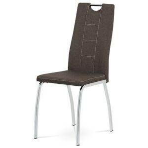 Sconto Jídelní židle VILMA hnědá