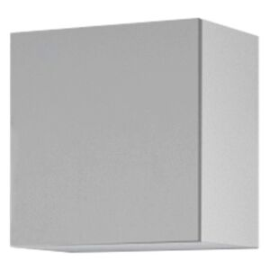 Sconto Závěsná skříňka VIVO VI 5 bílá, vysoký lesk