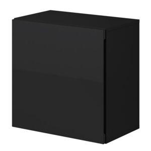 Sconto Závěsná skříňka VIVO VI 5 černá