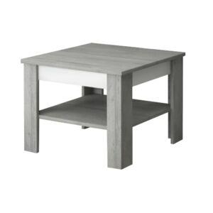 Sconto Konferenční stolek VOTO 1 beton/bílá
