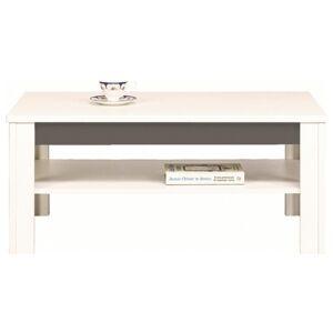 Sconto Konferenční stolek WHITNEY GREY bílá/šedá