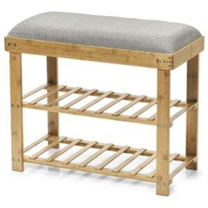 Sconto Botník s lavicí ZELLER bambus
